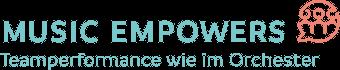 Music Empowers Logo - Teamperformance wie im Orchester